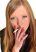 Persone a rischio cancro al polmone