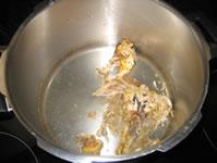 Brodo di pollo preparazione